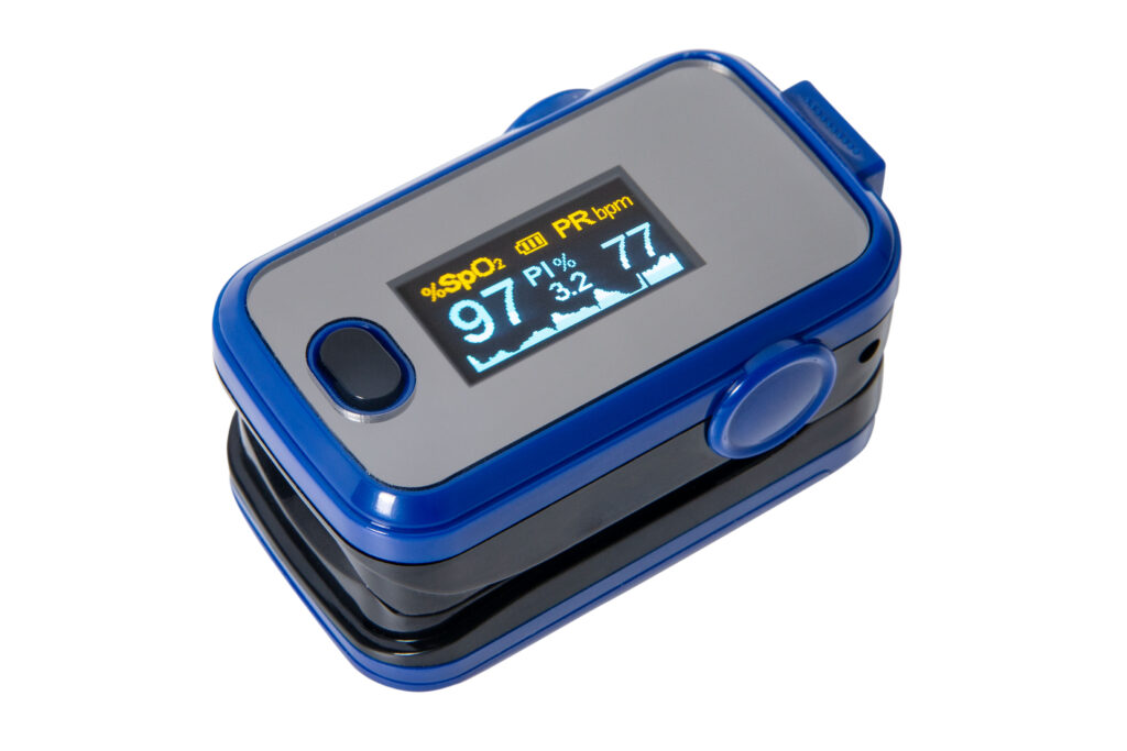 Fingertip Pulse Oximeter A310 Blue